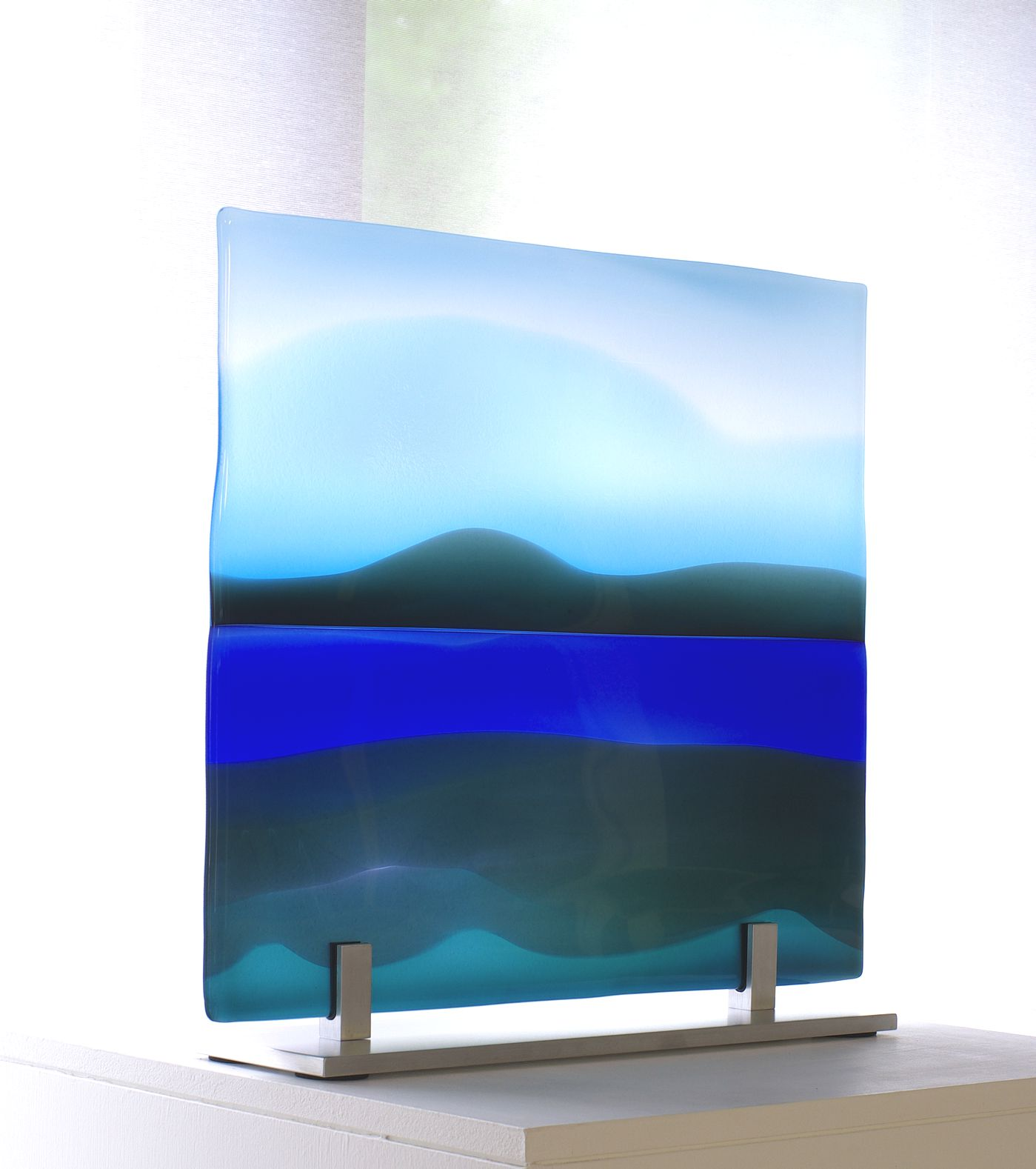 Glass panel River