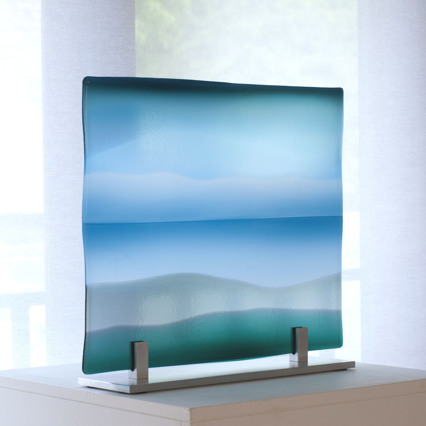 Glass panel Sea