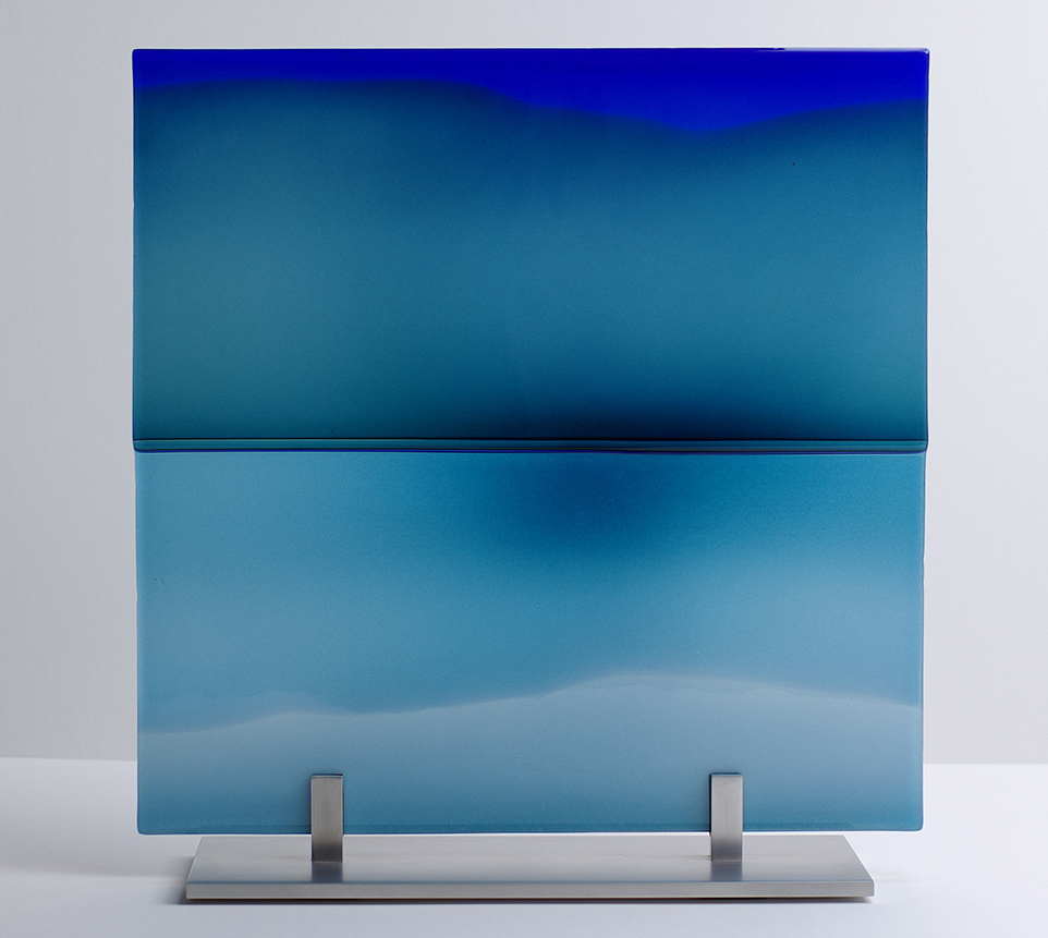 LMG Gallery, Panels, Landscape and reflections, Blue