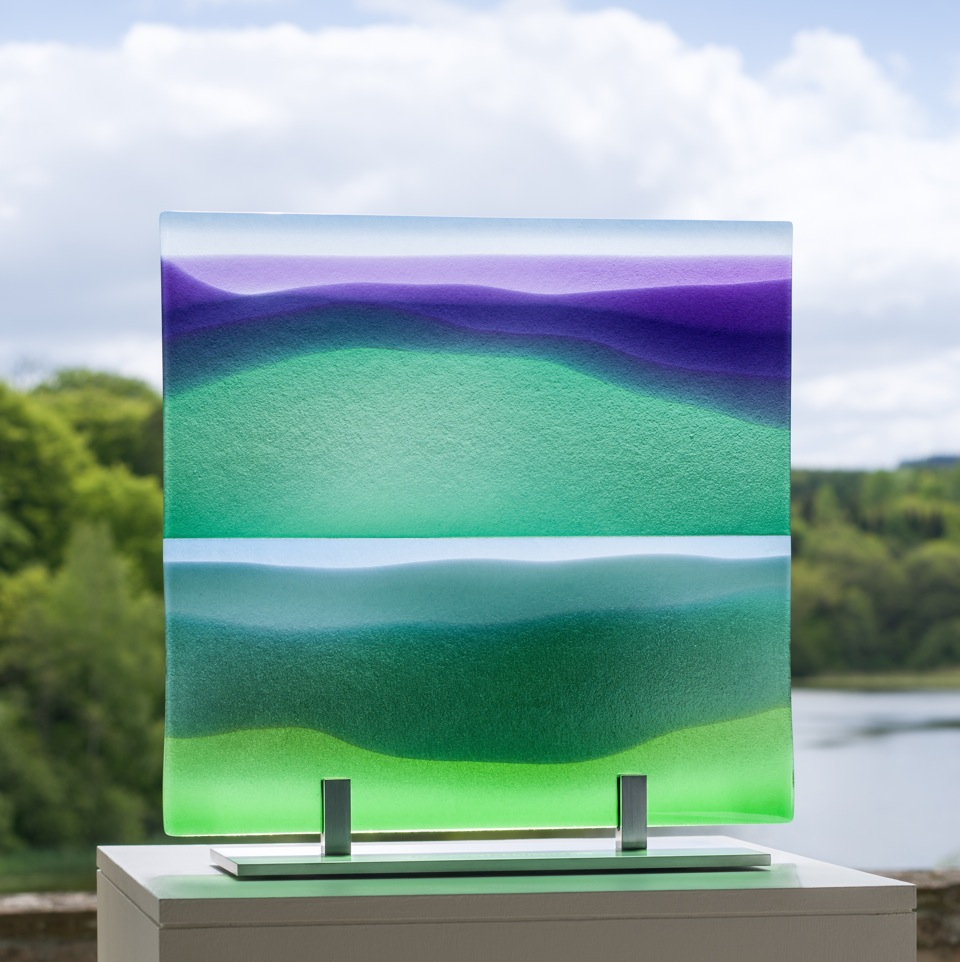 LMG Gallery, Commissions: Glass Panel - 2015 Walter Scott Prize