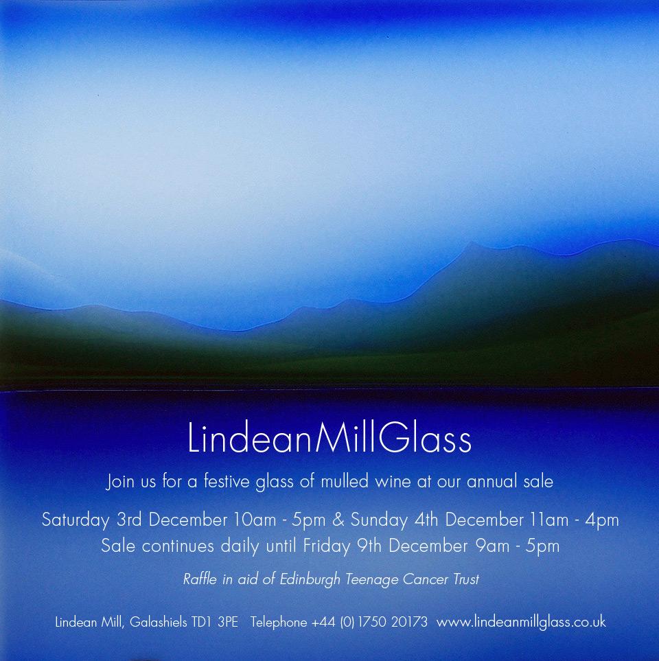 LindeanMillGlass Sale 2016