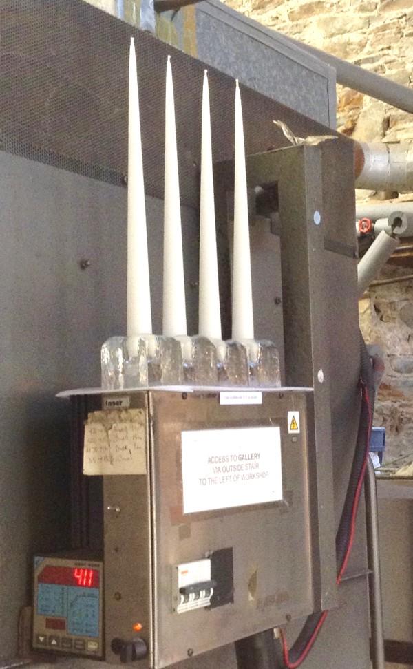 cast candleholders