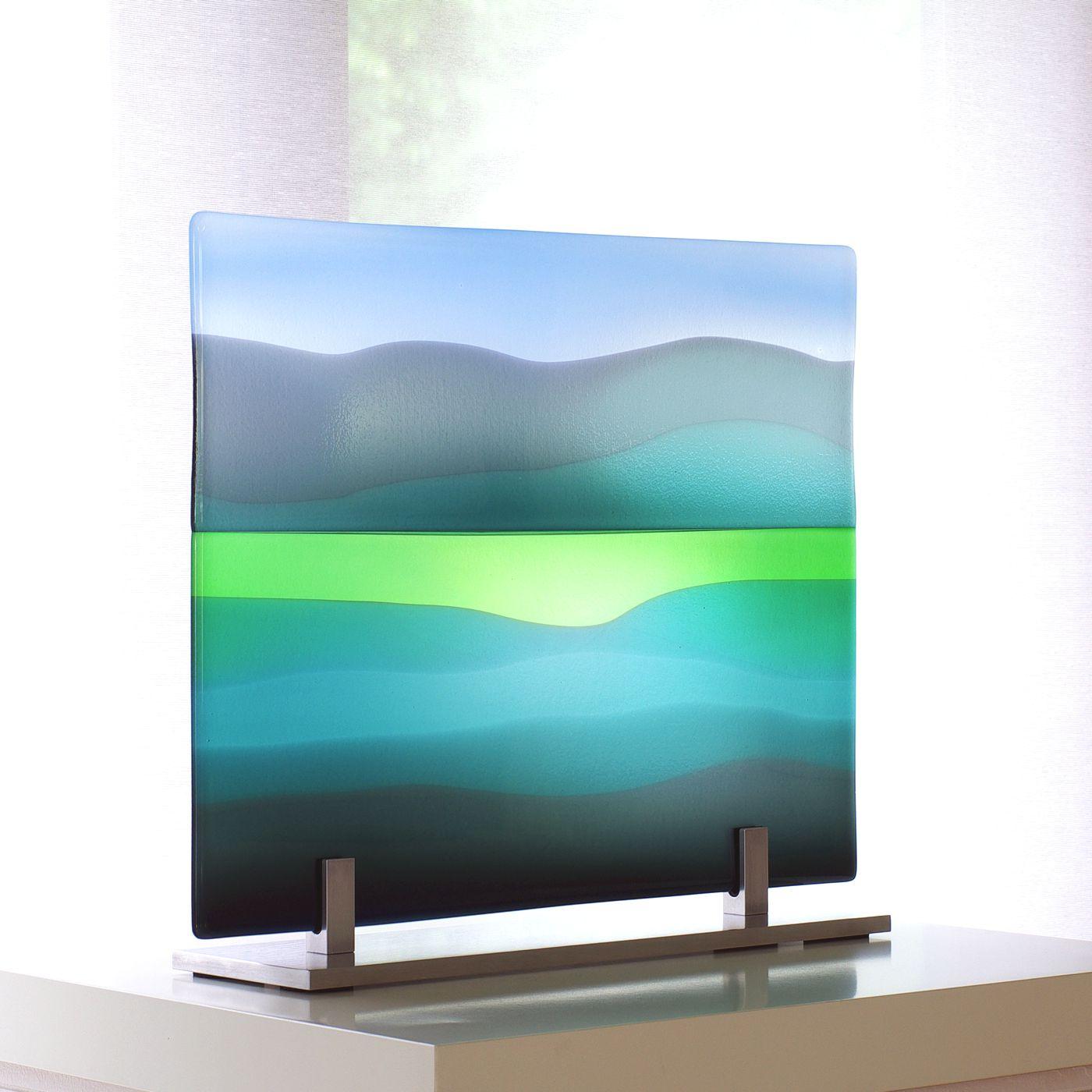 Glass panel Eildons