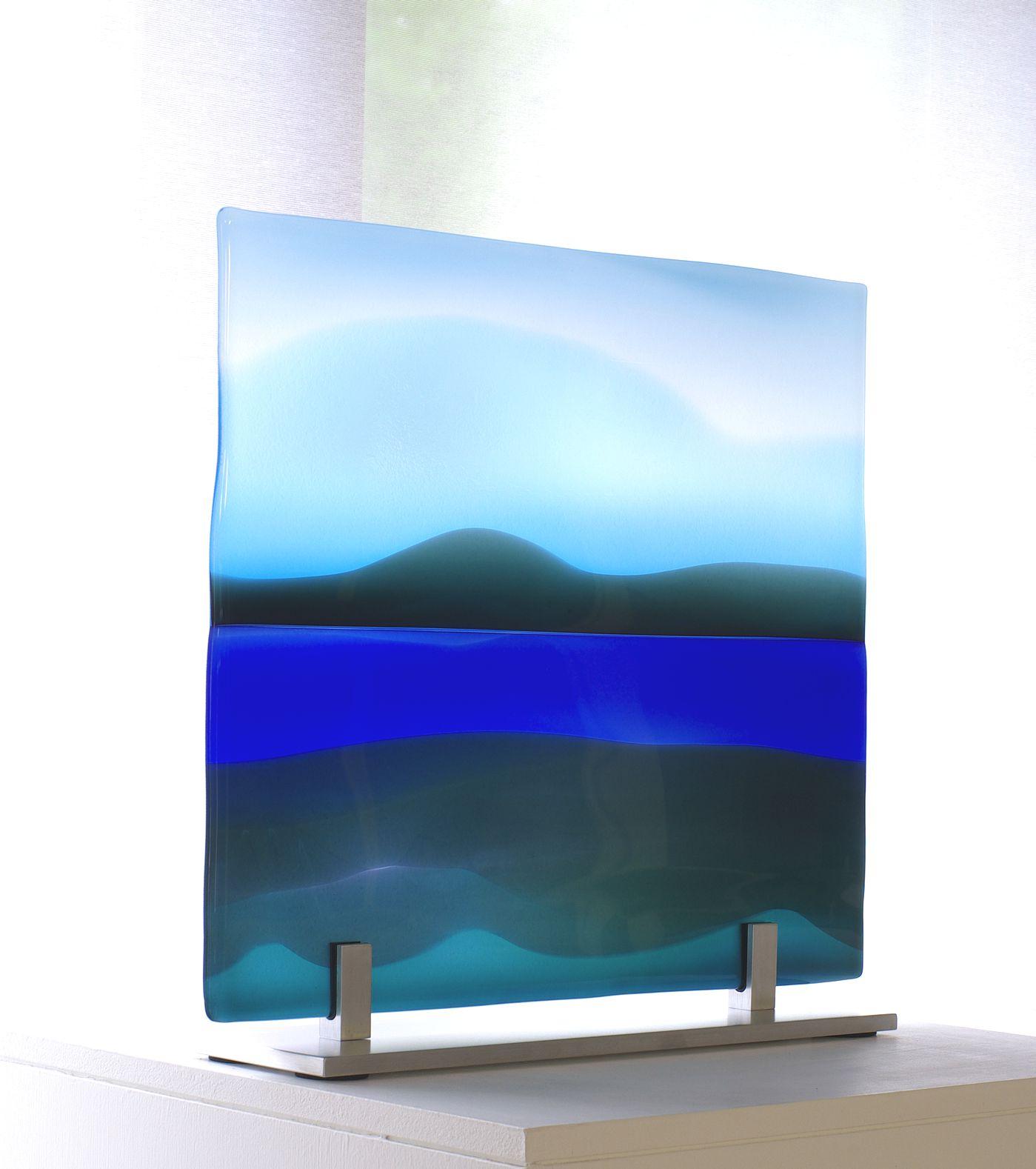 Glass panel River