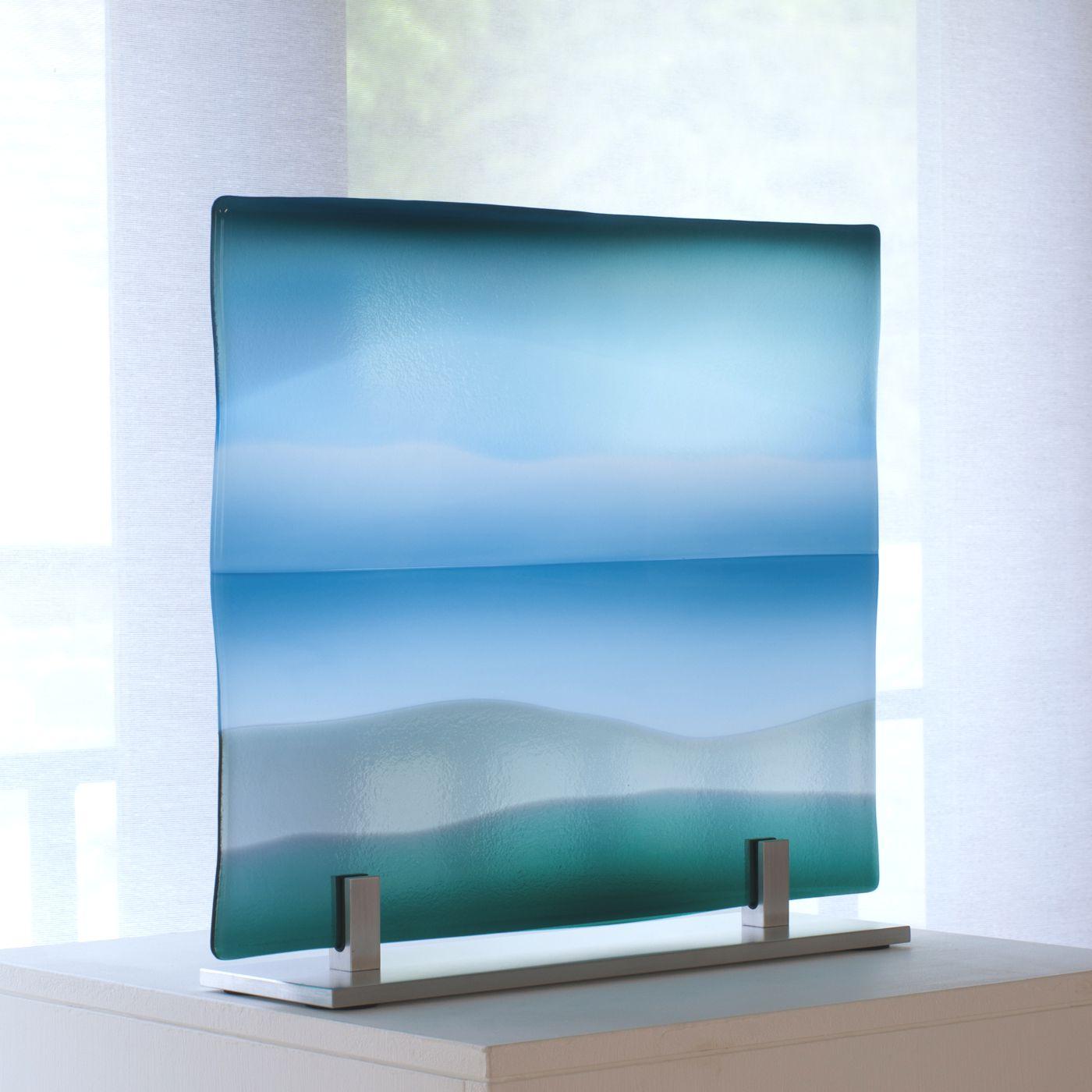 Glass panel Sea