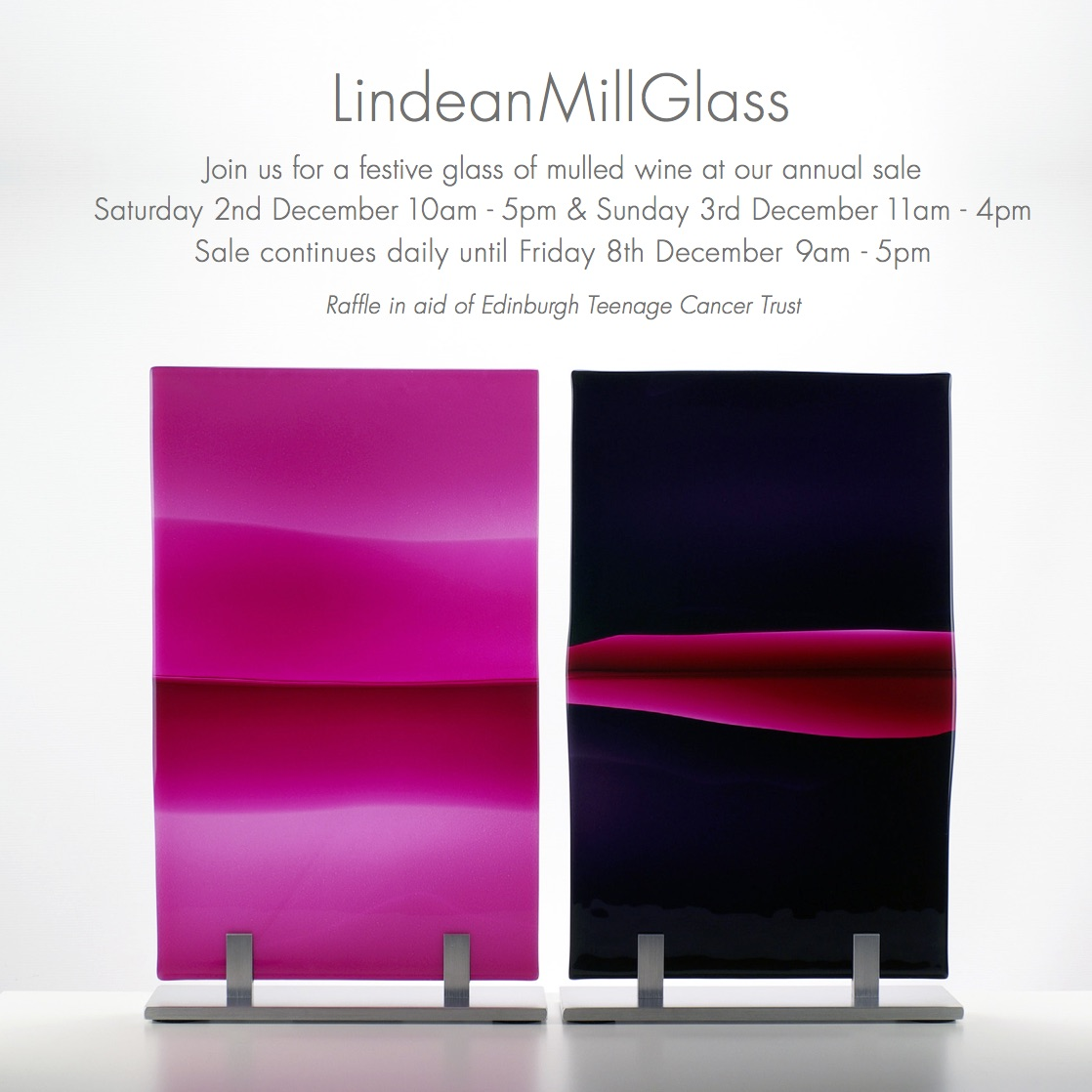 Lindean Mill Glass - Christmas Sale 2017