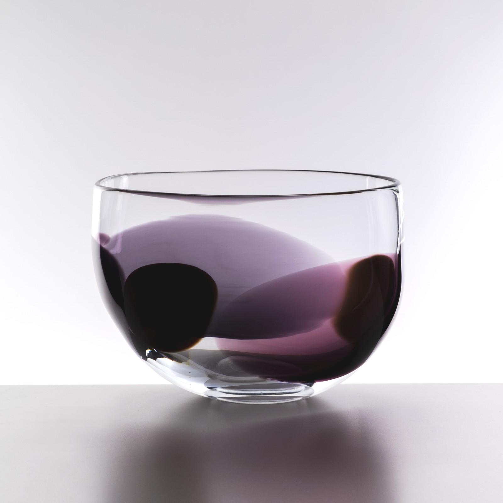 LindeanMillGlass Petal bowl